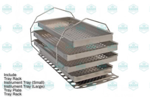 Autoclave Rack And Tray Kit Mik209 For Midmark Ritter M11 Stainless Steel
