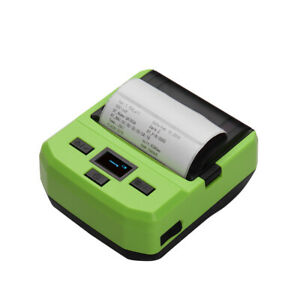 Handheld Mini 80mm Wireless Pos Receipt Bt Barcode Thermal Printer usb Port H3e8