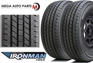 2 Ironman All Country Cht Lt265 75r16 10 123 120r All Season M s Truck Suv Tires