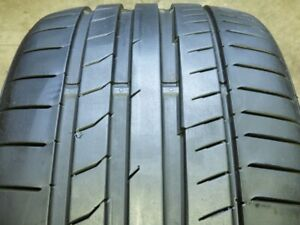 Continental Contisportcontact 5p Ssr 255 35r19 96y Used Tire 8 9 32 62916
