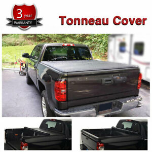 Roll Up Tonneau Cover For 99 07 Chevy Silverado Gmc Sierra 6 5ft Truck Bed