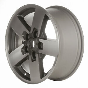 Oem Reman 17x7 5 Alloy Wheel Charcoal Fine Metallic Textured With Mach Face 9097