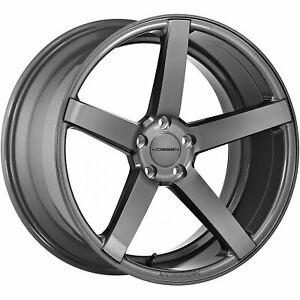 4 20x8 5 Gray Wheel Vossen Cv3r 5x112 40