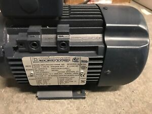 Marathon 1hp Electric Motor 230 460v 3ph 1765rpm 080ti7fh15327