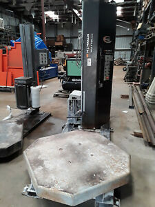 Used Wulftec Wsmh 200 s Pallet Turntable Stretch Wrapper Wrap Machine