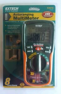 Extech Ex210t True Rms Multimeter With Ir Thermometer