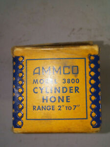 Vintage Ammco Model 3800 Cylinder Hone With Directions Range 2 To 7 Inches