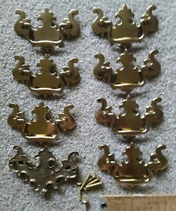 Lot Of 12 Vintage Bail Drawer Pulls 3 3 4 Centers Chippendale Style Nos