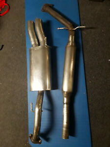 Vw Mk3 Golf Neuspeed Vr6 Polished Stainless Steel Exhaust Rare