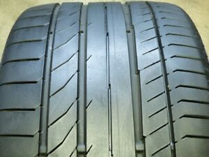 Continental Contisportcontact 5p 275 35zr19 100y Used Tire 7 8 32 78081