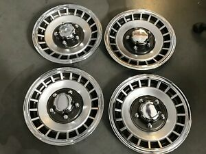 1 Set Ford F150 Bronco Ranger Replacement Hubcaps 15 1979 1996 281 15