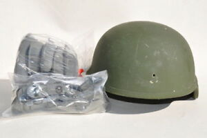US ARMY MICH ACH ADVANCED COMBAT HELMET SDS GENTEX MSA BAE GENTEX  LARGE