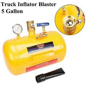 New 5 Gallon Air Tire Bead Seater Blaster Seating Inflator For Truck Atv 145 Psi