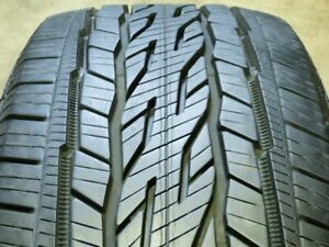 Continental Crosscontact Lx20 Ecoplus 235 60r18 107h Used Tire 10 11 32 79348