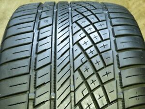 Continental Extremecontact Dws 06 295 40zr21 111y Used Tire 6 7 32 79579