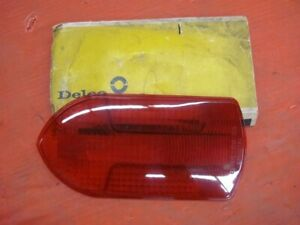 Nos Delco Tail Light Lens Fire Truck Ambulance Gmc Bus 5941749