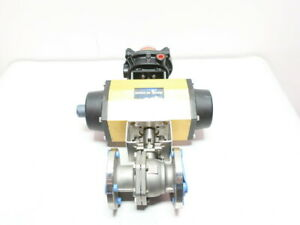 Vci F200k Pneumatic Stainless Flanged Control Valve 2in