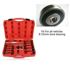 16 Pcs Car Inner Disassemble Bearing Blind Hole Remover Extractor Puller Set