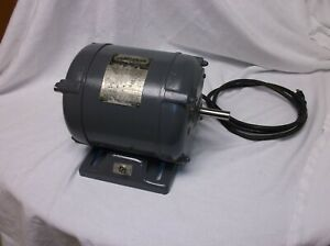 Vintage Craftsman 1 Hp 3450 Rpm Motor Dual Shaft 115 230v nice