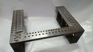 Agie 150f Hss Wire Edm Clamping Plates Assembly System 3r Workholding