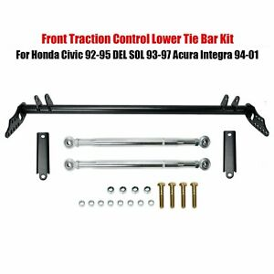 For Honda Civic 92 95 Acura Integra 94 01 Front Traction Control Tie Bar Kit New