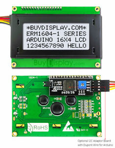 White Iic i2c twi Character 16x4 Lcd Display Module For Arduino W wire library