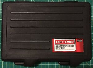 New Craftsman 8 Piece Master Oxygen Sensor Socket Set 4928 Oil Sensor 7 8 22mm