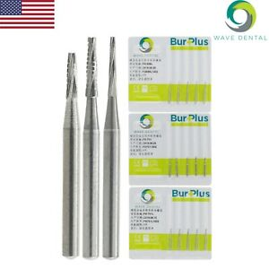 Wave Dental Carbide Bur Tungsten Taper Fissure Long Head Fg 699l 701 701l Prima