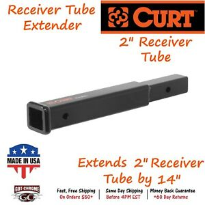 45795 Curt Receiver Tube Extender Extends A 2 X 2 Receiver Tube By 14