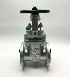 Powell 2 1 2 1503 Gate Valve Flanged Wcb Cr13 Hf 285 Psi 150 Solid Wedge