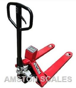 5000 X 1 Lb Pallet Jack Scale Digital Warehouse Shipping Receiving Wide Forks
