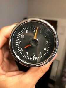 Genuine Bmw Z3 M Roadster Coupe Center Console Vdo Gauge Analog Clock Germany