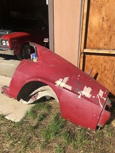 1968 1969 Amc Amx Full Driver Side Quarter Panel