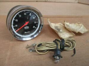 Vintage Faria 8k 8 Cyl Tachometer Nos 3 3 4 Inches Ford