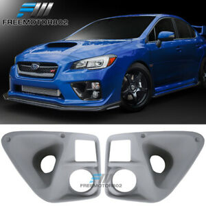 Fits 2015 2019 Subaru Wrx Sti Bumper Foglight Brake Cooling Ducts Frp