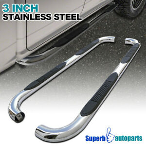 For 1997 2004 Ford F150 Super Cab S s Side Step Nerf Bars Running Board