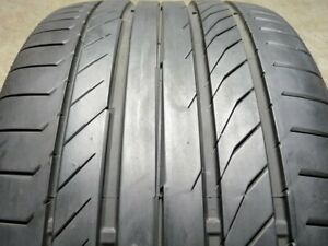 Continental Contisportcontact 5p 295 35r21 103y Used Tire 7 8 32 62233