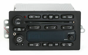 2005 2009 Chevy Gmc Truck Am Fm 6 Cd Radio W Aux Input On Face Cable 28058188