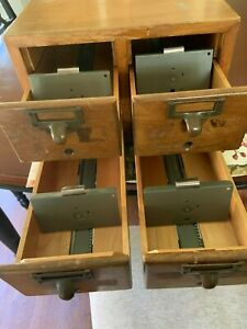 Gaylord Brothers Card Catalogue 4 Drawers
