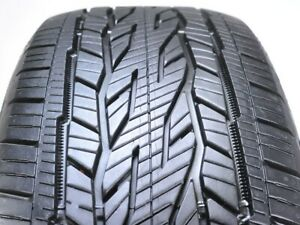 Continental Crosscontact Lx20 Ecoplus 275 55r20 111t Used Tire 10 11 32 501458