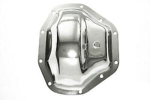 Chrome Heavy Duty Steel Dana 80 Rear End Differential Cover Chevy Ford Dodge