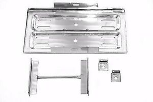Universal Stainless Steel Bolt On Battery Tray 13 1 4 X 7 1 2