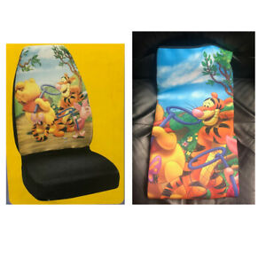 1 Pc Universal Disney Winnie The Pooh Seat Cover All Bucket Seats