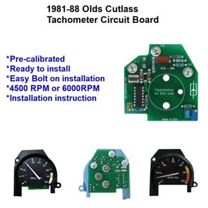 1981 1988 Olds Cutlass 442 Replacement Tachometer Circuit Board