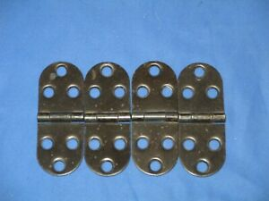 Vintage Singer Treadle Sewing Machine Cabinet Lid Hinges Lot Of 4