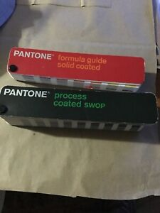 Pantone 2 Color Guide Process Coated Swop Formula Guide Solid Coated