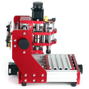 5500mw Mini Cnc Router La ser Metal Engraving Milling Machine W Er11 Collet I4q7