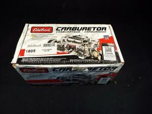 Brand New Edelbrock 1805 650cfm Thunder Series Carburetor Manual Choke