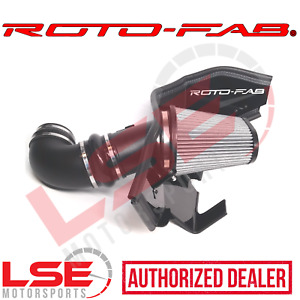 Roto fab 10161057 Dry Cold Air Intake System 2017 2019 Chevy Camaro Zl1 Zl 1 Lt4