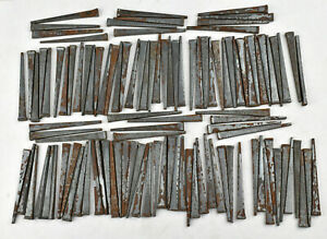 Over 100 Square Cut Wrought Iron 2 1 4 Nails Crafts Restoration La Belle Wv Usa